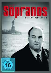 Die Sopranos Staffel 6 Box 2, 4 DVDs