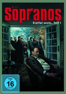 Die Sopranos Staffel 6 Box 1, 4 DVDs