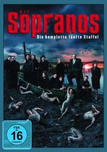 Die Sopranos Staffel 5, 4 DVDs
