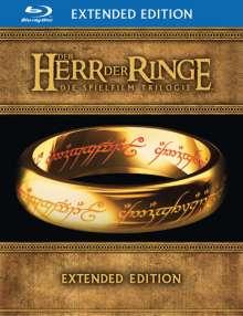Der Herr der Ringe: Die Trilogie (Extended Edition) (Blu-ray), 15 Blu-ray Discs