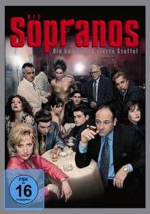 Die Sopranos Staffel 4, 4 DVDs