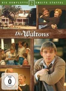 Die Waltons Staffel 2, 7 DVDs