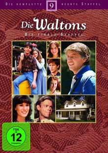 Die Waltons Staffel 9 (finale Staffel), 5 DVDs