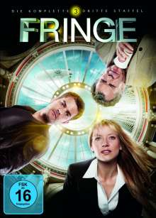 Fringe Season 3, 6 DVDs