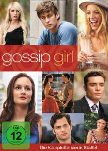 Gossip Girl Season 4, 5 DVDs