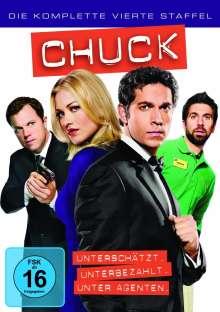 Chuck Season 4, DVD