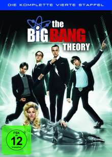 The Big Bang Theory Staffel 4, 3 DVDs