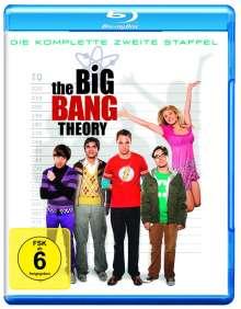 The Big Bang Theory Staffel 2 (Blu-ray), 2 Blu-ray Discs