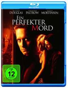 Ein perfekter Mord (Blu-ray), Blu-ray Disc