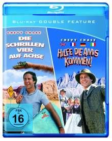 Hilfe, die Amis kommen + Die schrillen Vier auf Achse (Blu-ray), 2 Blu-ray Discs