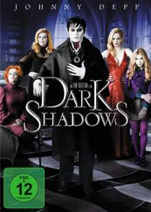Dark Shadows (2012), DVD