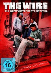 The Wire Staffel 4, 5 DVDs
