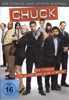 Chuck Season 5, 3 DVDs