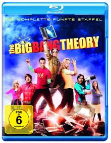 The Big Bang Theory Staffel 5 (Blu-ray), 2 Blu-ray Discs