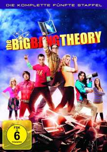 The Big Bang Theory Staffel 5, 3 DVDs