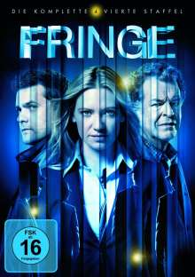 Fringe Season 4, 6 DVDs