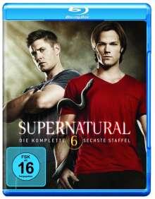 Supernatural Staffel 6 (Blu-ray), 4 Blu-ray Discs