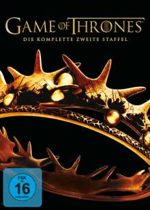 Game of Thrones Season 2, 5 DVDs