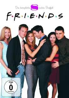 Friends Season 8, 4 DVDs