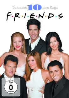 Friends Season 10, 5 DVDs