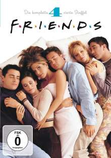 Friends Season 4, 4 DVDs