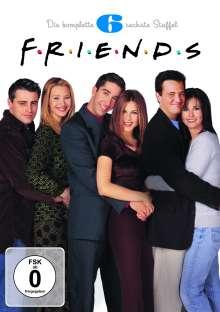 Friends Season 6, 4 DVDs