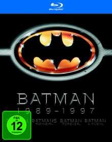 Batman 1-4 (Blu-ray), 4 Blu-ray Discs