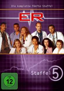 E.R. Emergency Room Staffel 5, 3 DVDs