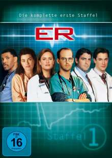 E.R. Emergency Room Staffel 1, 4 DVDs