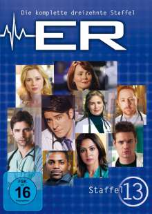 E.R. Emergency Room Staffel 13, 3 DVDs