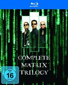 Matrix Trilogy (Blu-ray), 3 Blu-ray Discs