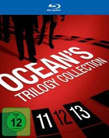 Ocean's Trilogy (Ocean's 11, Ocean's 12, Ocean's 13) (Blu-ray), 4 Blu-ray Discs