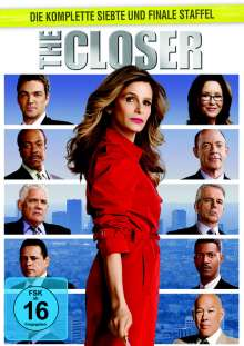 The Closer Season 7, 5 DVDs