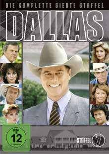 Dallas Season 7, 8 DVDs