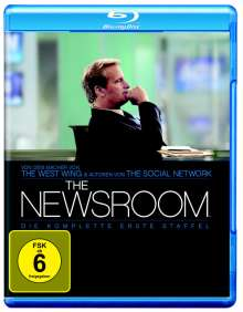Newsroom Season 1 (Blu-ray), 4 Blu-ray Discs