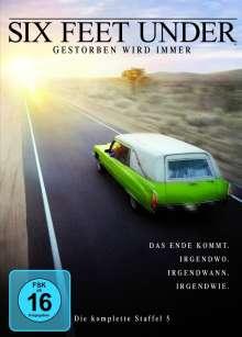Six Feet Under Staffel 5, 5 DVDs
