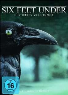 Six Feet Under Staffel 4, 5 DVDs
