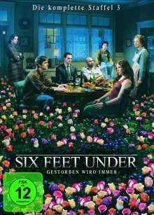 Six Feet Under Staffel 3, 5 DVDs
