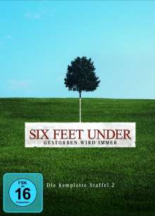 Six Feet Under Staffel 2, 5 DVDs