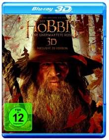 Der Hobbit - Eine unerwartete Reise (3D & 2D Blu-ray), 4 Blu-ray Discs