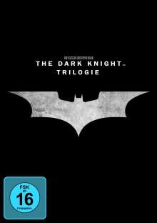 The Dark Knight Trilogy, 3 DVDs