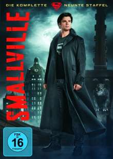 Smallville Season 9, 6 DVDs