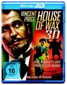 House Of Wax - Das Kabinett des Professor Bondi (3D & 2D Blu-ray), Blu-ray Disc