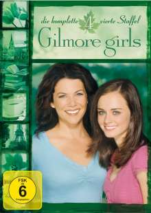 Gilmore Girls Season 4, 6 DVDs