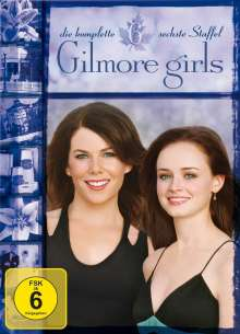 Gilmore Girls Season 6, 6 DVDs