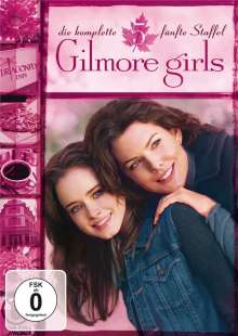 Gilmore Girls Season 5, 6 DVDs