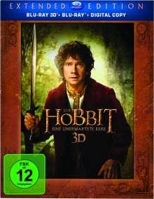Der Hobbit: Eine unerwartete Reise (Extended Edition) (2D & 3D Blu-ray), 5 Blu-ray Discs