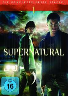 Supernatural Staffel 1, 6 DVDs