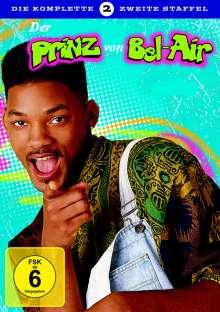 Der Prinz von Bel Air Staffel 2, 4 DVDs