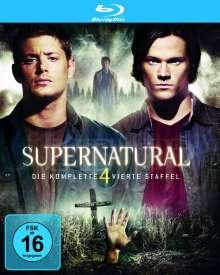 Supernatural Staffel 4 (Blu-ray), 4 Blu-ray Discs